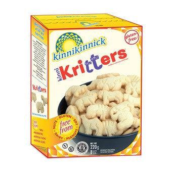 KinniKritters GF DF Plain Animal Cookies 7oz