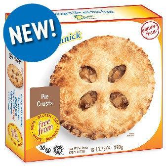 Kinnikinnick GF DF Pie Crust Pastry 2pk 13.75oz