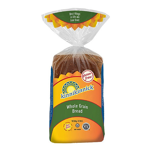 Kinnikinnick GF DF Whole Grain Bread 17.8oz