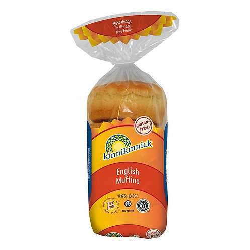 Kinnikinnick GF DF English Muffins 13.5oz