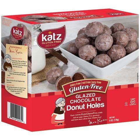 Katz GF DF Glazed Chocolate Donut Holes 6oz