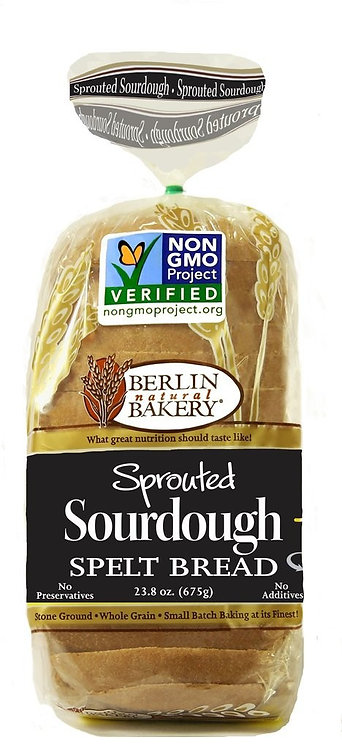 Berlin Spelt Sprouted Sourdough Bread 23.8oz