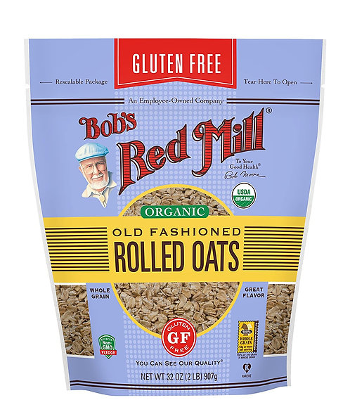 Bob's Red Mill GF Organic Old Fashioned Rolled Oats 32oz