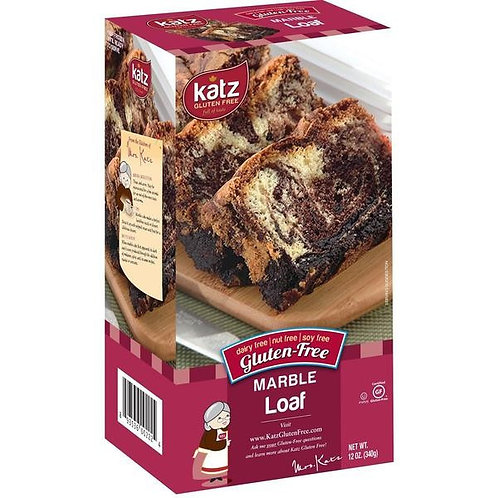 Katz GF DF Marble Loaf 12oz