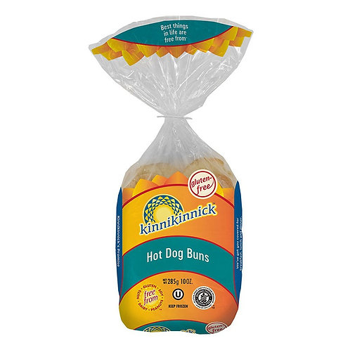 Kinnikinnick GF DF Hot Dog Buns 10oz