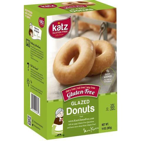Katz GF DF Glazed Donuts 14oz