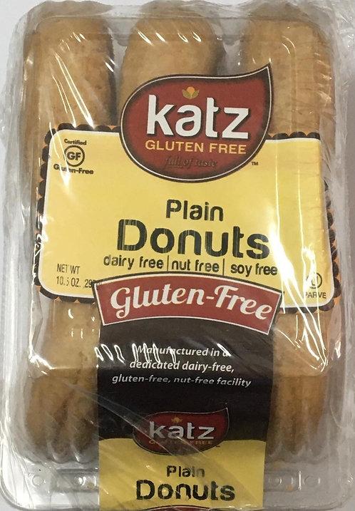 Katz GF DF Plain Donuts 10.5oz