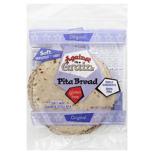 Against the Grain GF 7inch Lebanese Style Pita Bread 13.8oz