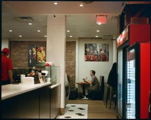 NY,Pizza restaurant.