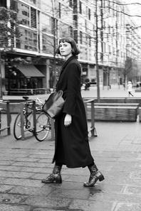 model in London.