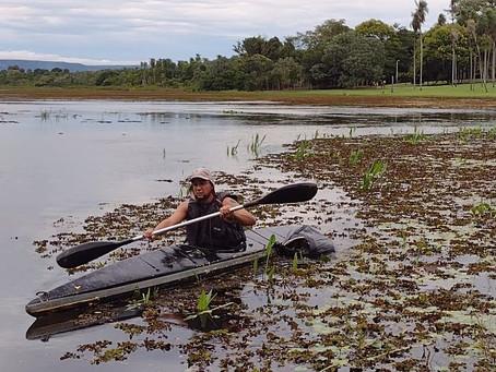 Lagoa Comprida recebe voluntários para ação de limpeza em Aquidauana