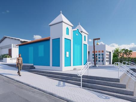 Arquitetos apresentam nesta sexta projeto de restauração da igreja São Benedito