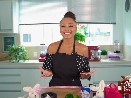 Chef Michele Crispim apresenta série de vídeos com dicas de como trabalhar com o chocolate