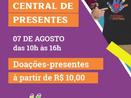 Fraternidade sem Fronteiras realiza 1º Bazar com itens da Central de Presentes neste sábado