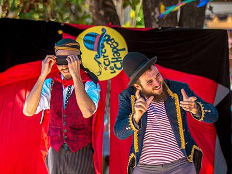 """Sesc Cultura será """"invadido"""" pelo Circo Le Chapeau e também tem espetáculo de dança e mostra de film"""