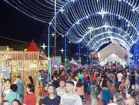 Cidade do Natal de Campo Grande atrais mais de 400 mil pessoas em 25 dias de evento
