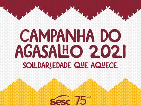 Campanha do Agasalho vai aquecer famílias atendidas pelo Mesa Brasil Sesc