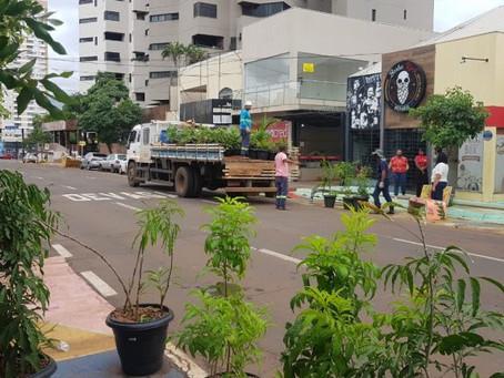 Encerrada fase de teste do urbanismo tático que prepara José Antônio para novo corredor gastronômico