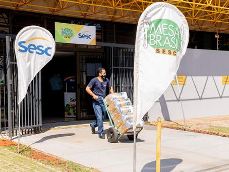 Fecomércio MS faz doação de alimentos a municípios de MS