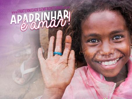 Apadrinhamento é o que garante a continuidade de projetos humanitários no Brasil e na África