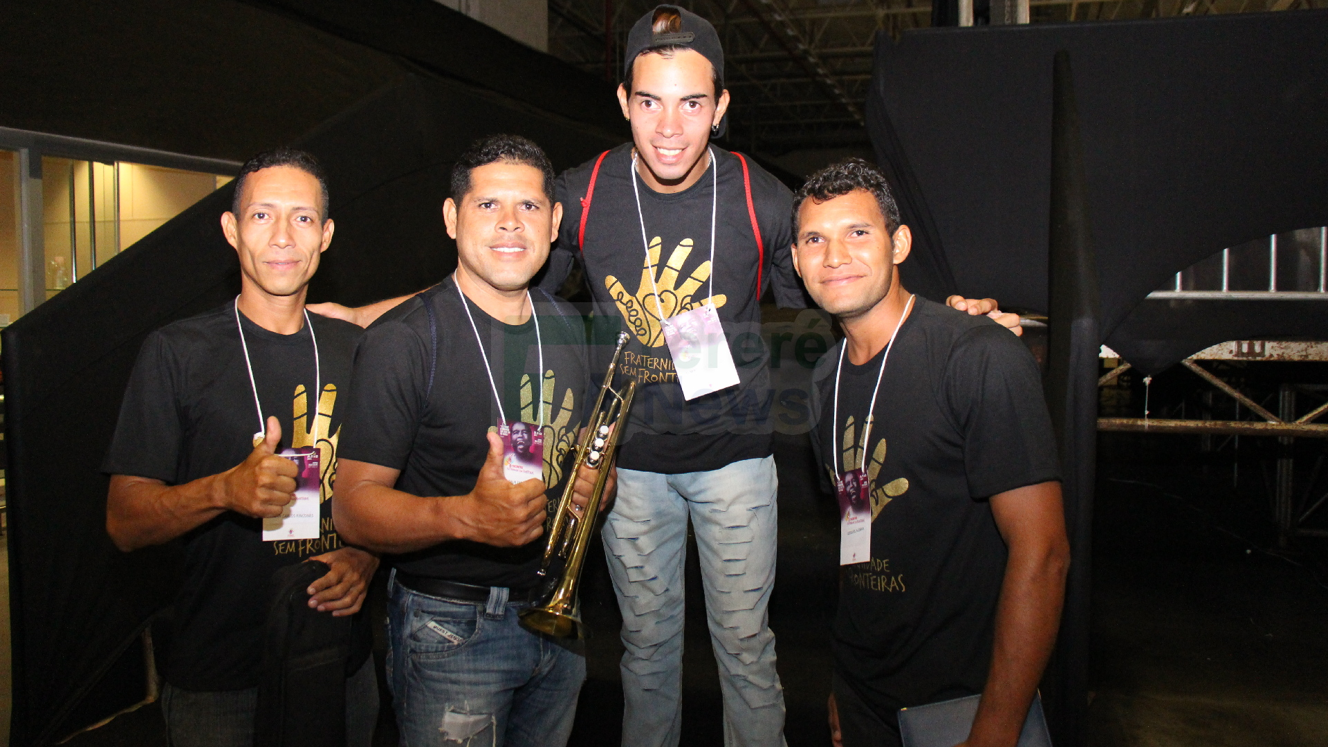 Juan, Jesus, Alberto e Ezequiel