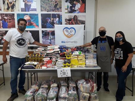 Oito instituições sociais são beneficiadas pela Campanha 'Eu Alimento' da Fundação Manoel de Barros