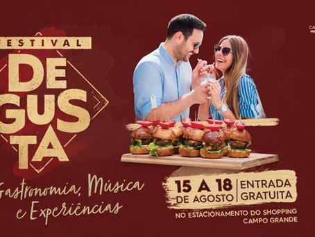 Atrações musicais animam festival de gastronomia até domingo na Capital