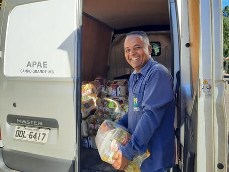 Com 137 toneladas de alimentos arrecadados, Mesa Brasil Sesc chegou a 19,4 mil pessoas em junho