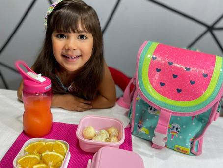 Nutricionistas orientam sobre benefícios da alimentação saudável no retorno às aulas