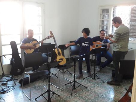 Sesc Corumbá abre inscrições para os cursos gratuitos de Viola Caipira e Violão