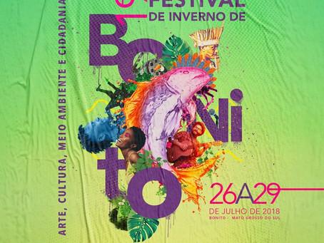19º Festival de Inverno de Bonito será de 26 a 29 de julho