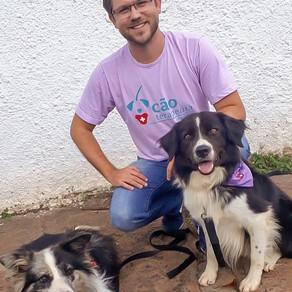 Terapia com animais ajuda na reabilitação de crianças com câncer e autismo em Campo Grande