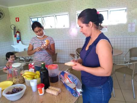Doações de itens alimentícios ajudam crianças da AACC/MS