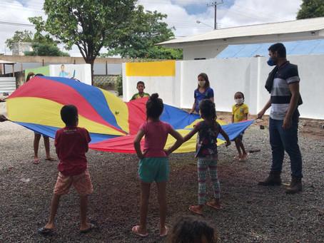 Fraternidade sem Fronteiras inicia coordenação de espaço emergencial de acolhimento a venezuelanos
