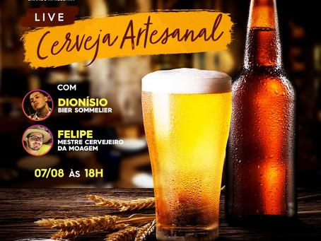 Cerveja artesanal é tema de live nesta sexta-feira (7)