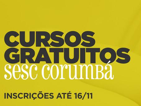 Inscrições para alunos veteranos no Sesc Corumbá estão abertas