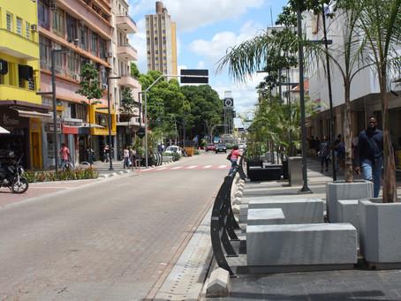 Estudo mostra que modernização do centro da capital foi fundamental para aumentar vendas do comércio