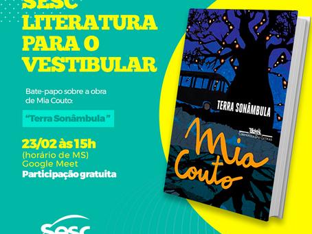 Terra Sonâmbula, de Mia Couto, será próxima leitura do Sesc literatura para o vestibular
