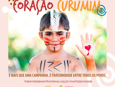 Daniela Migliari, Simão Pedro e Luiza Brunet participam de lives sobre a Campanha Coração Curumim