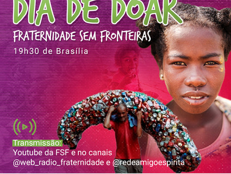 Fraternidade sem Fronteiras arrecada R$80 mil no Dia de Doar