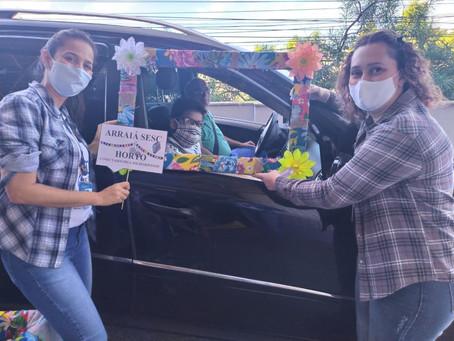 Sesc Escola faz arraial solidário para arrecadar alimentos e itens de higiene