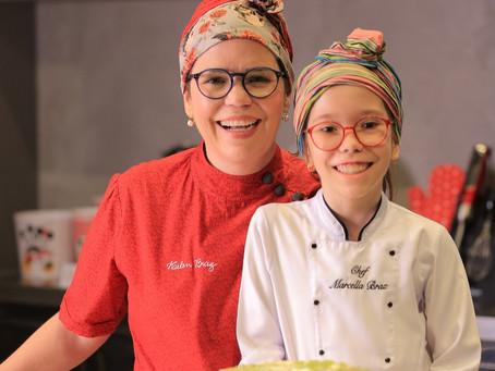 Com ajuda de chefs da Capital, crianças ensinam receitas fáceis e saborosas