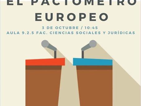 EL PACTÓMETRO EUROPEO: Una charla sobre formación de gobiernos en Europa