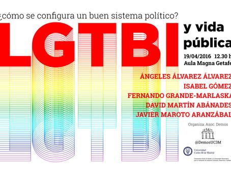Nota de prensa LGTBI y vida pública