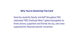 Donor relations guru website creative communications thank you card pt 2 spiritdancerdesigns Gallery