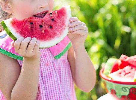 How do I help my child eat healthy: