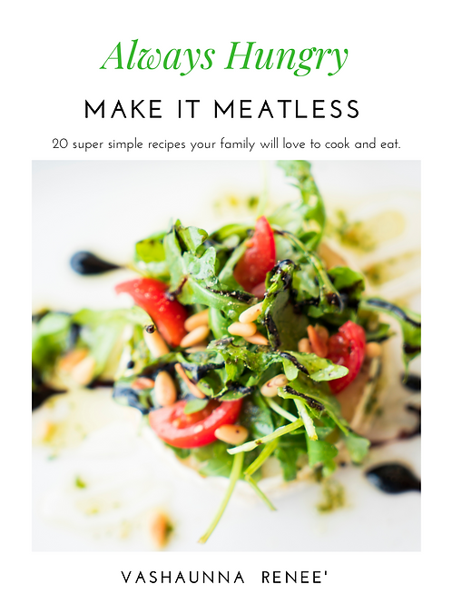 Cookbook Always Hungry Marke It Meatless