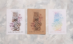 Personalise your invitations