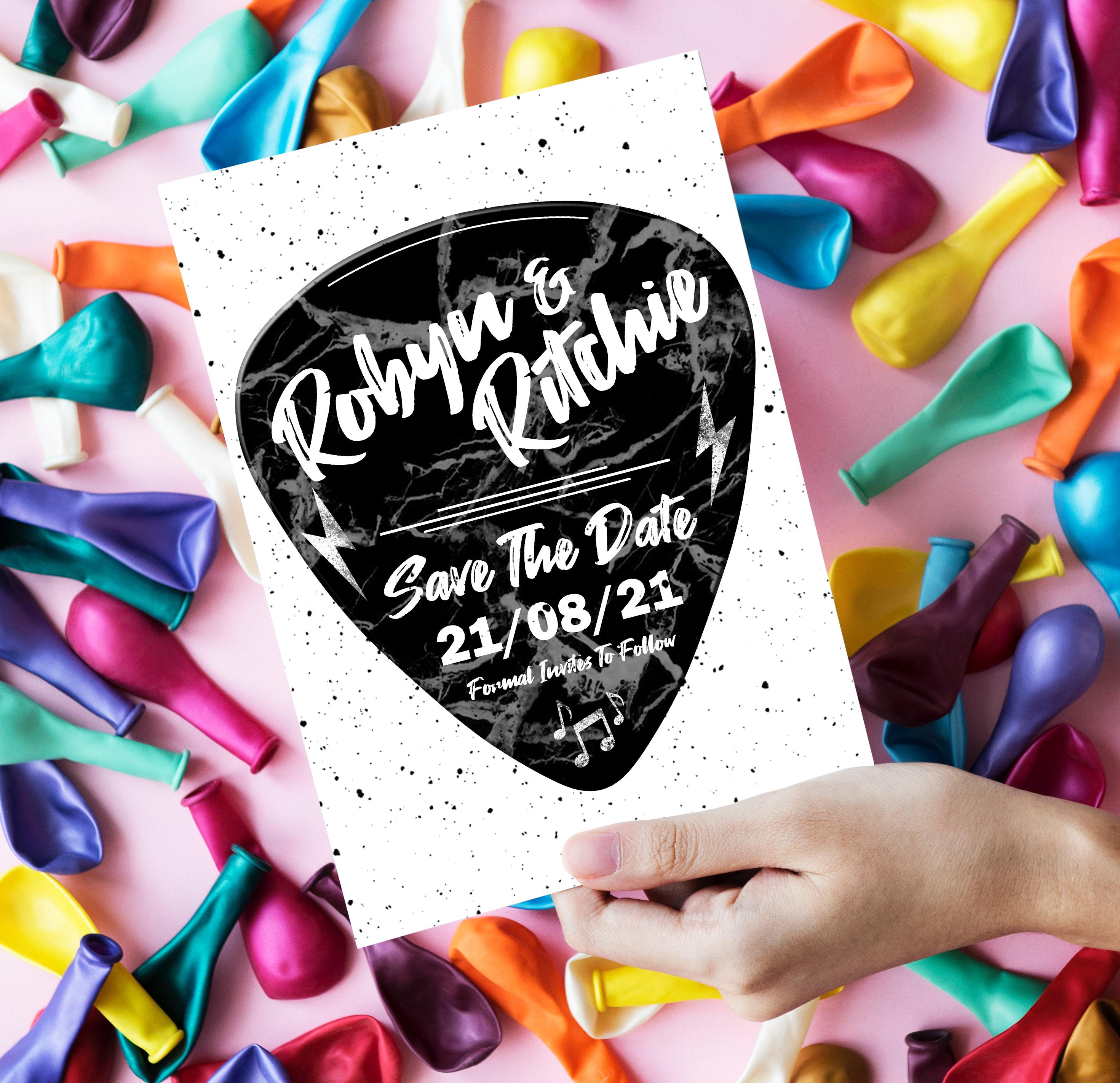 Love Rocks Save The Date