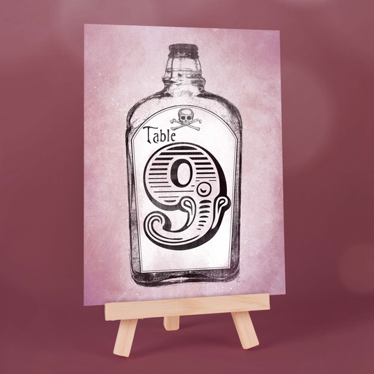 Apothecary Table Number
